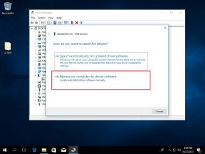 Windows 10 Install Microsoft Webcam step 2