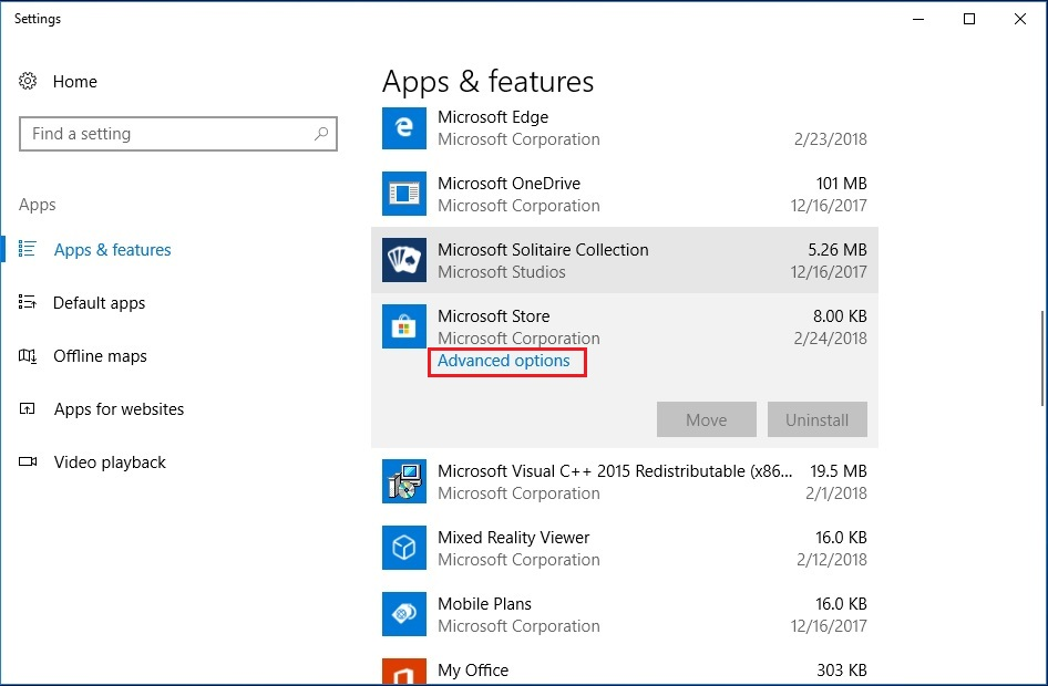 How to reinstall and repair Microsoft Windows Store – Oueta