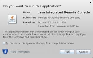 Javaws Dialog 2